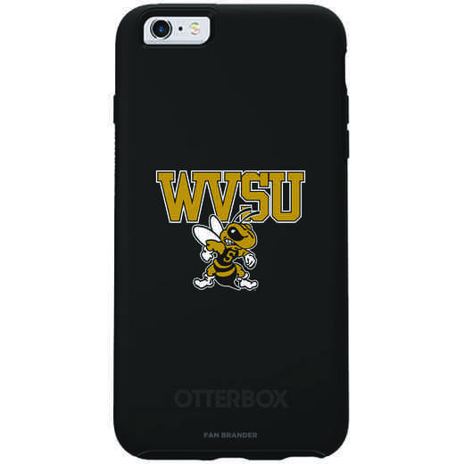 IPH-66S-BK-SYM-WVSU-D101: FB West Virginia St OB SYMMETRY IPN 6/6S