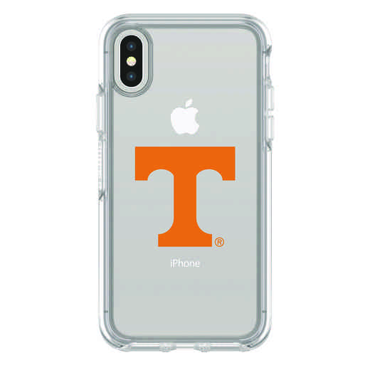 IPH-X-CL-SYM-TEN-D101: FB Tennessee iPhone X Symmetry Series Clear Case