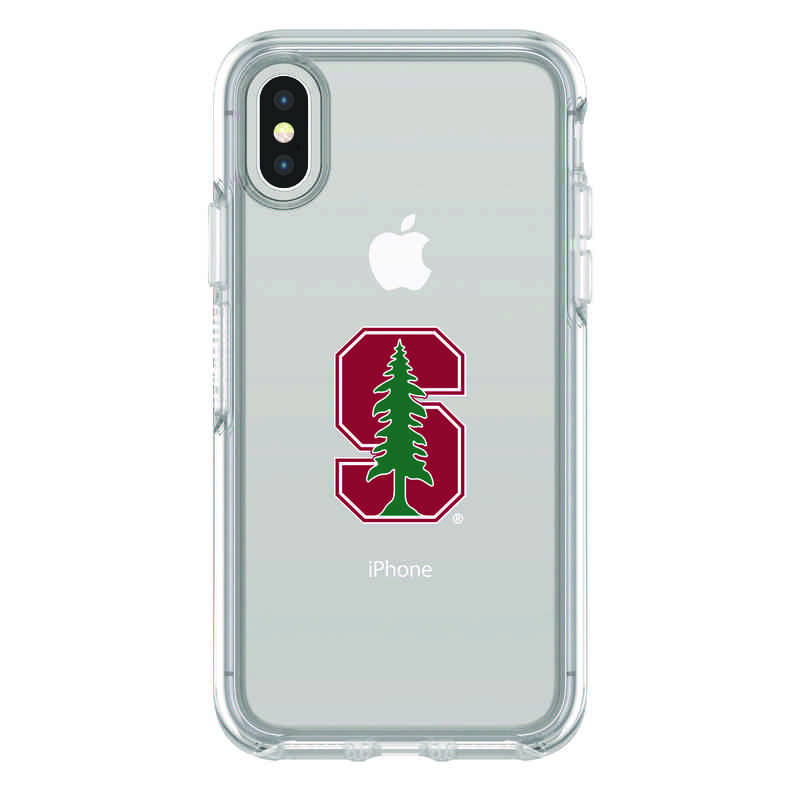 IPH-X-CL-SYM-STA-D101: FB Stanford iPhone X Symmetry Series Clear Case