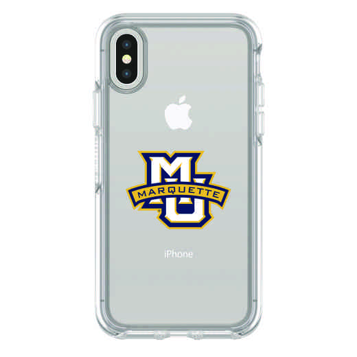 IPH-X-CL-SYM-MAQ-D101: FB Marquette iPhone X Symmetry Series Clear Case