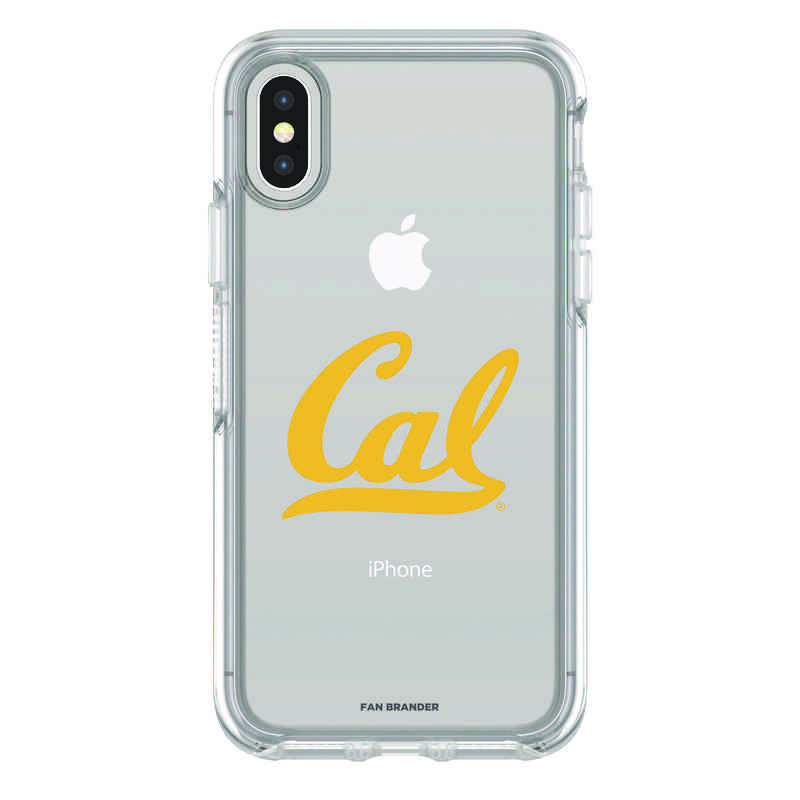 IPH-X-CL-SYM-CAL-D101: FB California iPhone X Symmetry Series Clear Case