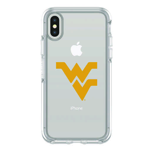 IPH-X-CL-SYM-WV-D101: FB Wyoming iPhone X Symmetry Series Clear Case