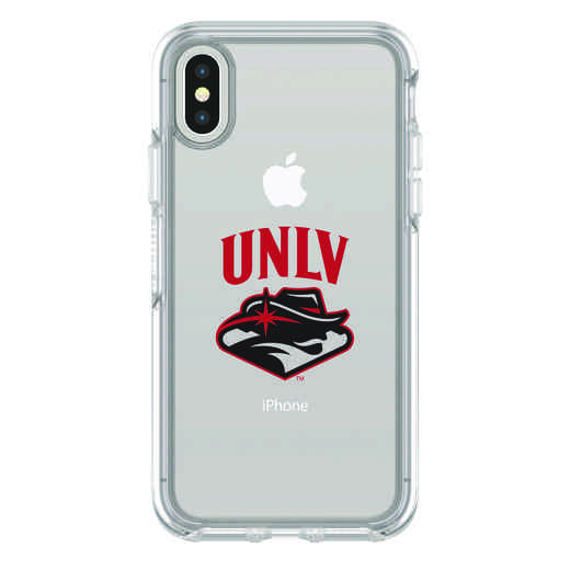IPH-X-CL-SYM-UNLV-D101: FB UNLV iPhone X Symmetry Series Clear Case