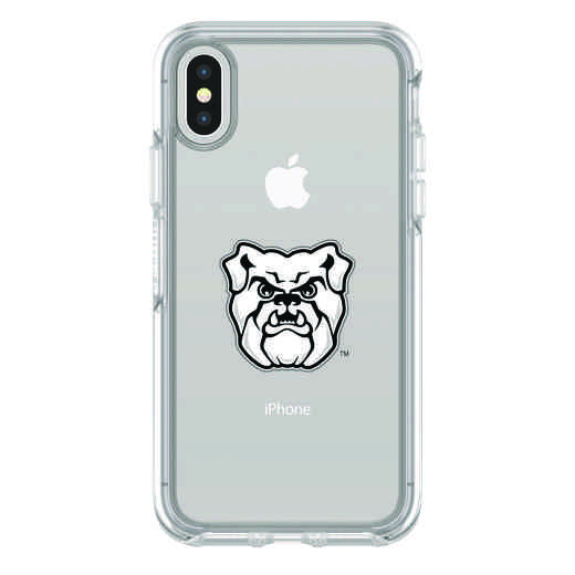 IPH-X-CL-SYM-BUT-D101: FB Butler iPhone X Symmetry Series Clear Case