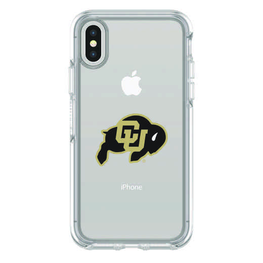 IPH-X-CL-SYM-CU-D101: FB Colorado iPhone X Symmetry Series Clear Case