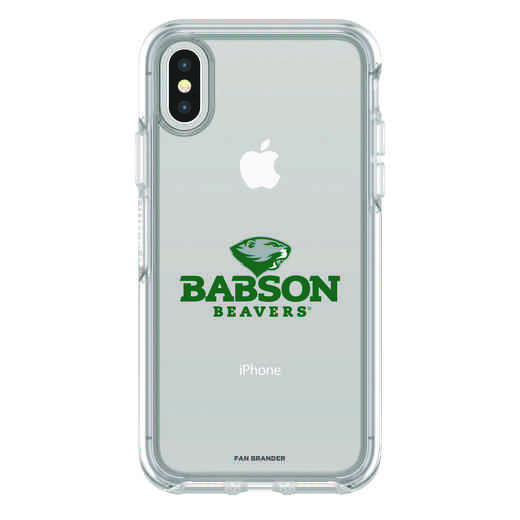 IPH-X-CL-SYM-BAB-D101: FB Babson iPhone X Symmetry Series Clear Case