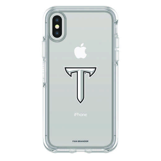IPH-X-CL-SYM-TROY-D101: FB Troy iPhone X Symmetry Series Clear Case