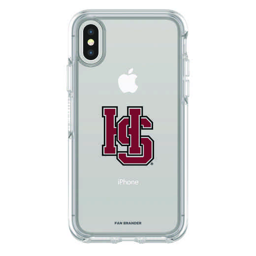 IPH-X-CL-SYM-HSC-D101: FB Hampden Sydney iPhone X Symmetry Series Clear Case