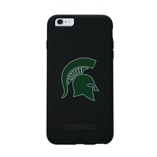 IPH-6SP-BK-SYM-MCS-D101: FB Michigan St OB SYMMETRY IPN 6 PLUS/6S PLUS