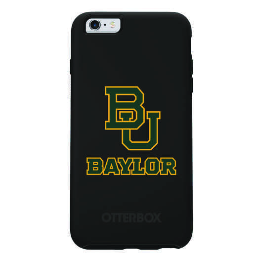 IPH-6SP-BK-SYM-BAY-D101: FB Baylor OB SYMMETRY IPN 6 PLUS/6S PLUS
