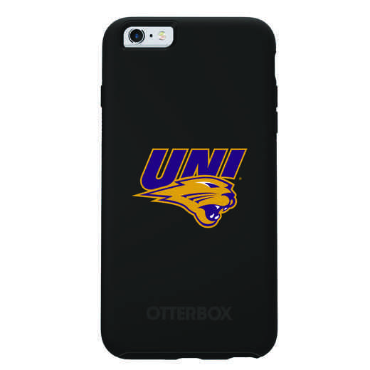 IPH-6SP-BK-SYM-UNI-D101: FB Northern Iowa OB SYMMETRY IPN 6 PLUS/6S PLUS