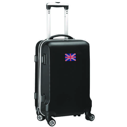 "FLENL204-BLACK: England Flag 21"" Carry-On Spinner Black"