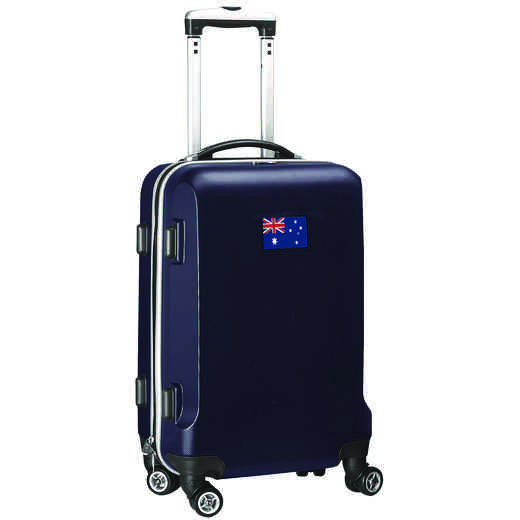 "FLAUL204-NAVY: Australia Flag 21"" Carry-On Spinner Navy"