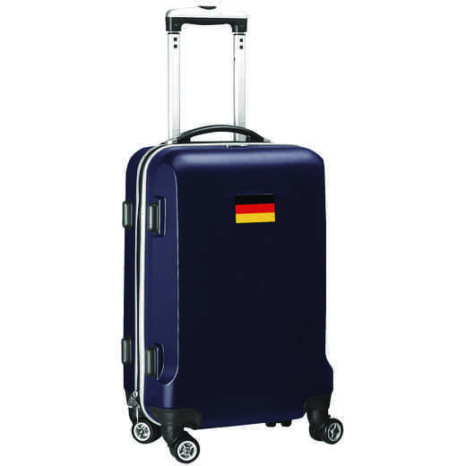 "FLGEL204-NAVY: Germany Flag 21"" Carry-On Spinner Navy"