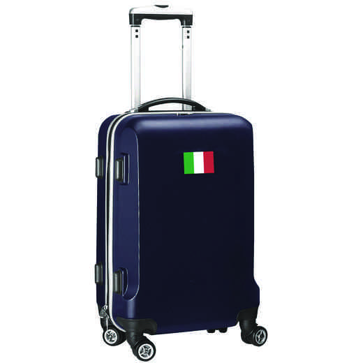"FLITL204-NAVY: Italy Flag 21"" Carry-On Spinner Navy"
