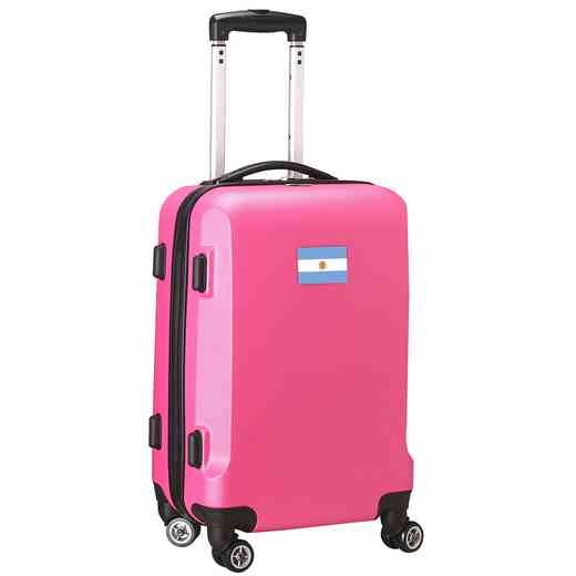 "FLARL204-PINK: Argentina Flag 21"" Carry-On Spinner Pink"