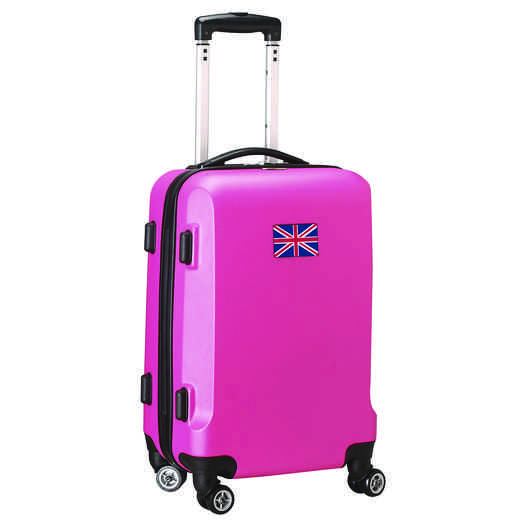 "FLENL204-PINK: England Flag 21"" Carry-On Spinner Pink"