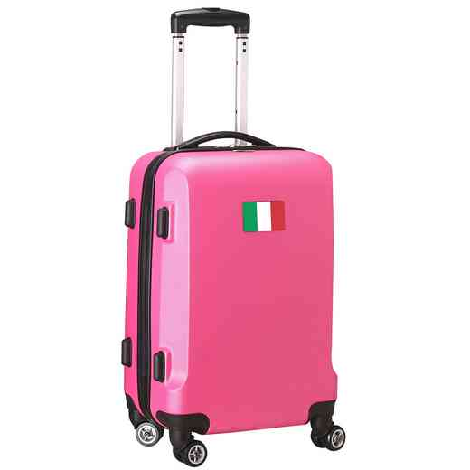 "FLITL204-PINK: Italy Flag 21"" Carry-On Spinner Pink"