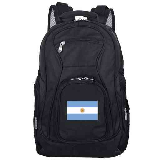 FLARL704: Argentina Flag Backpack Black
