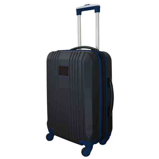 PLZZL208-NAVY: Carry-On Hardcase Dual Color Expandable Spinner In Navy