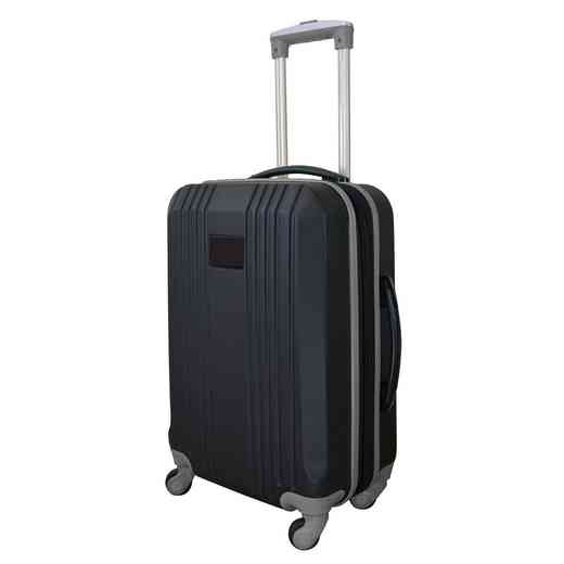 PLZZL208-GRAY: Carry-On Hardcase Dual Color Expandable Spinner In Gray
