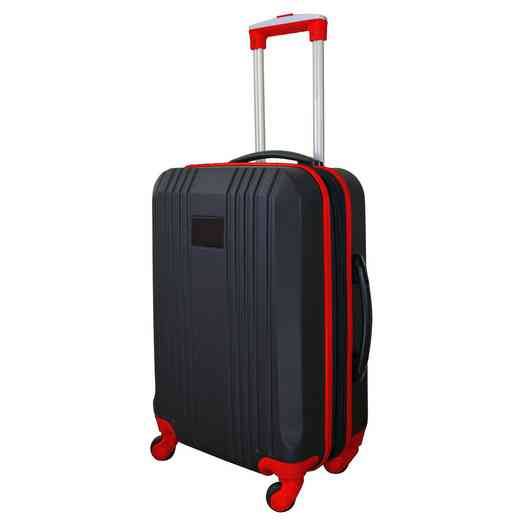 PLZZL208-RED: Carry-On Hardcase Dual Color Expandable Spinner In Red