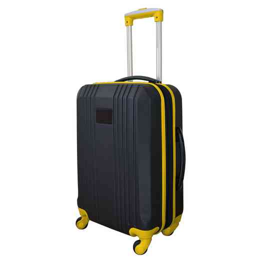 PLZZL208-YELLOW: Carry-On Hardcase Dual Color Expandable Spinner In Yellow