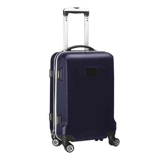 PLZZL204-NAVY: Blank Hardcase Carry On Spinner Navy