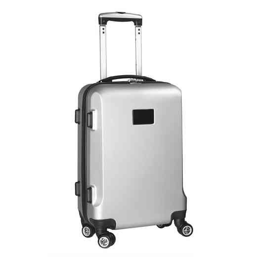 PLZZL204-SILVER: Blank Hardcase Carry On Spinner Silver