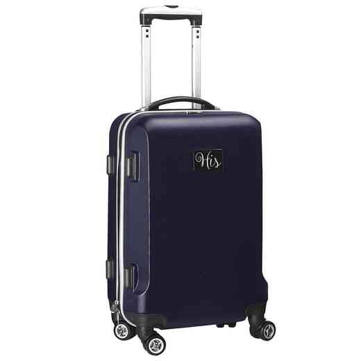 "INHIL204-NAVY: His 21"" Hardcase Carry-On Spinner Navy"