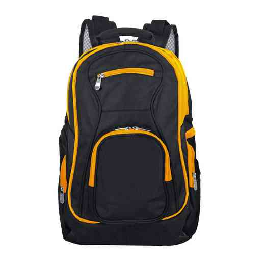 PLZZL708-YELLOW: Yellow Trim Blank Backpack