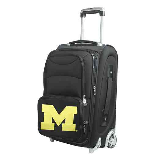 CLMCL203: NCAA Michigan Wolverines  Carry-On  Rllng Sftsd Nyln