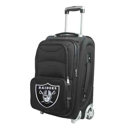NFORL203: NFL Oakland Raiders  Carry-On  Rllng Sftsd Nyln