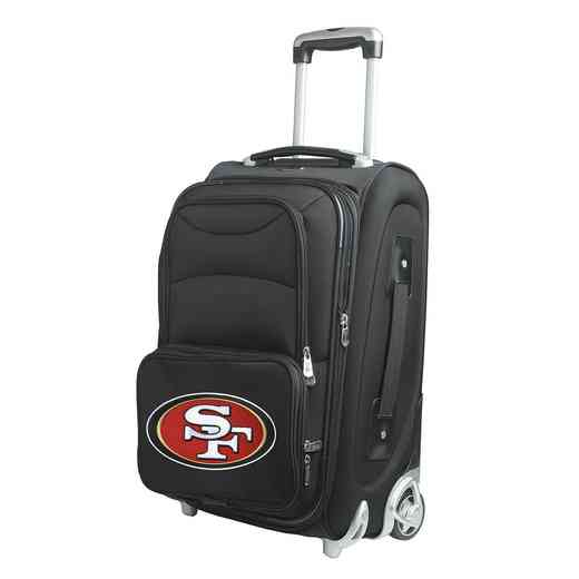 NFSFL203: NFL San Francisco 49ers  Carry-On  Rllng Sftsd Nyln
