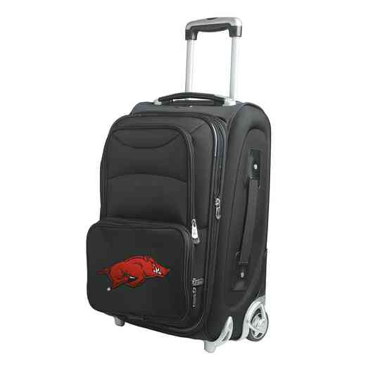 CLARL203: NCAA Arkansas Razorbacks  Carry-On  Rllng Sftsd Nyln