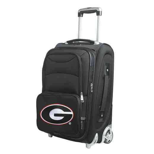 CLGAL203: NCAA Georgia Bulldogs  Carry-On  Rllng Sftsd Nyln