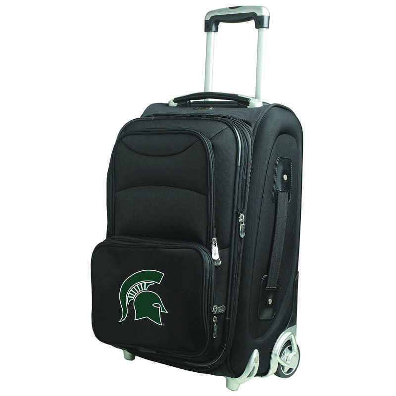 CLMSL203: NCAA Michigan St Spartans  Carry-On  Rllng Sftsd Nyln