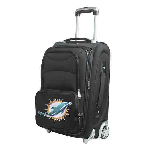 NFMDL203: NFL Miami Dolphins  Carry-On  Rllng Sftsd Nyln