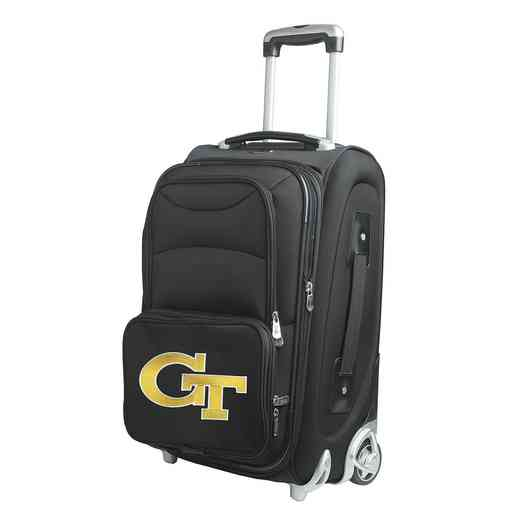 CLGTL203: NCAA Georgia Tech Yellow Jackets  Carry-On  Rllng Sftsd Nyln