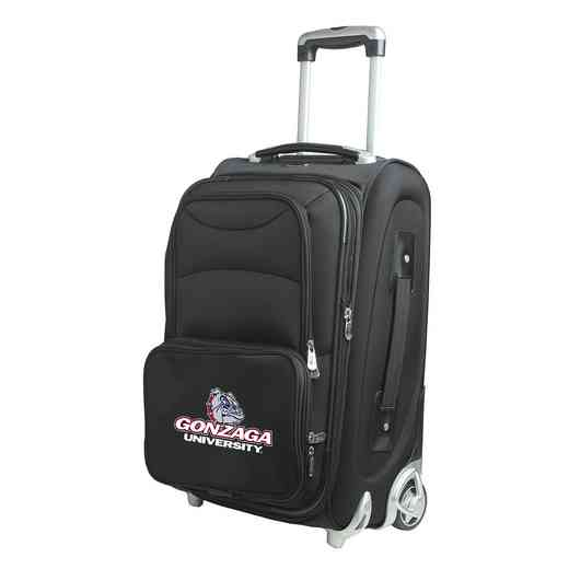 CLGZL203: NCAA Gonzaga Univ Bulldogs  Carry-On  Rllng Sftsd Nyln