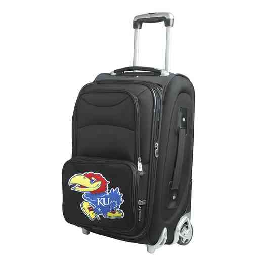 CLKUL203: NCAA Kansas Jayhawks  Carry-On  Rllng Sftsd Nyln