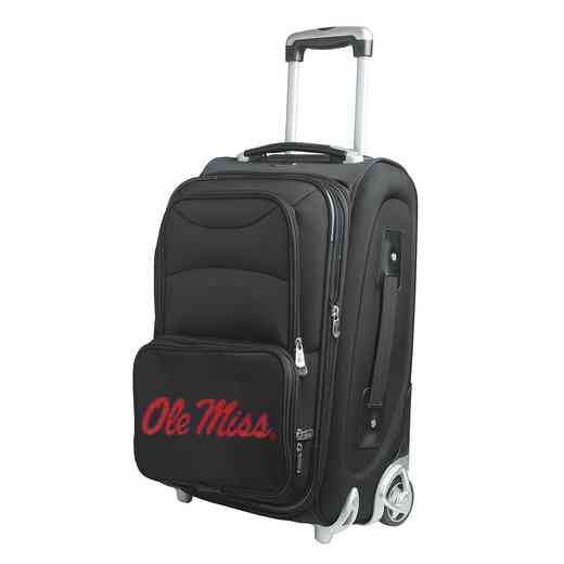 CLMIL203: NCAA Mississippi Ole Miss  Carry-On  Rllng Sftsd Nyln