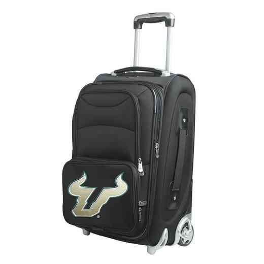 CLSFL203: NCAA South Florida Bulls  Carry-On  Rllng Sftsd Nyln