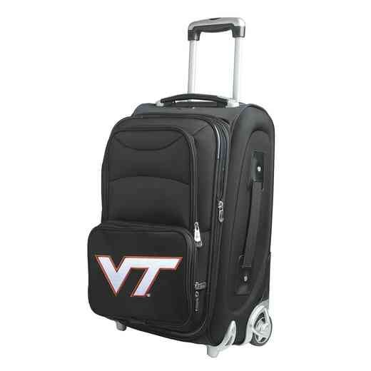 CLVTL203: NCAA Virginia Tech Hokies  Carry-On  Rllng Sftsd Nyln