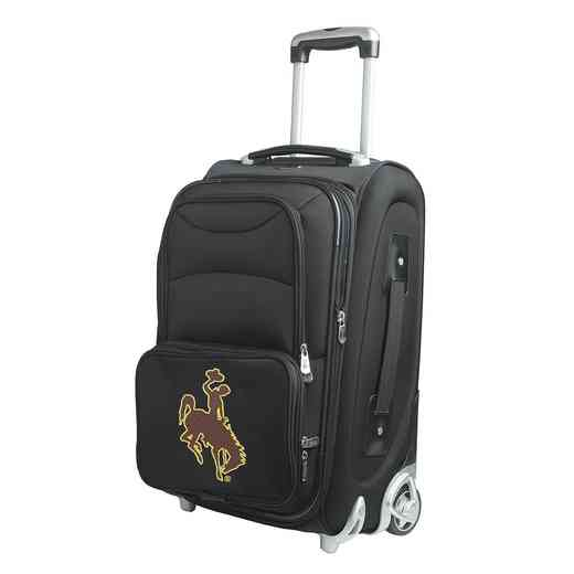 CLWYL203: NCAA Wyoming Cowboys  Carry-On  Rllng Sftsd Nyln
