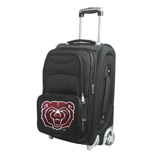 CLMBL203: NCAA Missouri St Univ Bears  Carry-On Rllng Sftsd Nyln