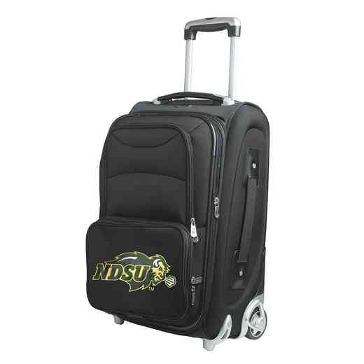 CLNUL203: NCAA North Dakota St Bison  Carry-On  Rllng Sftsd Nyln