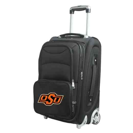 CLOKL203: NCAA Oklahoma St Cowboys  Carry-On  Rllng Sftsd Nyln