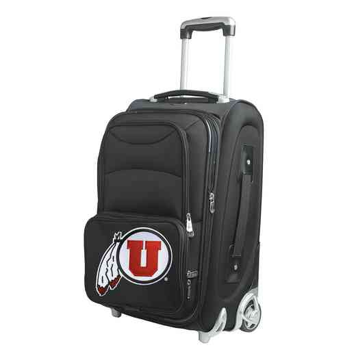 CLUTL203: NCAA Utah Utes  Carry-On  Rllng Sftsd Nyln
