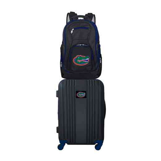 CLFLL108: NCAA Florida Gators 2 PC ST Luggage / Backpack